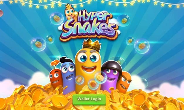 HyperSnakes Review. Slither.io crypto game.