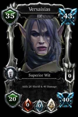 Mythereum card dark elf