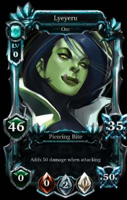 Mythereum card orc