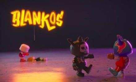 Blankos Block party. Virtual MMO world on EOS