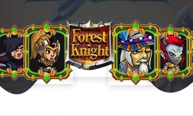Forest knight. turn-based strategy game for Android