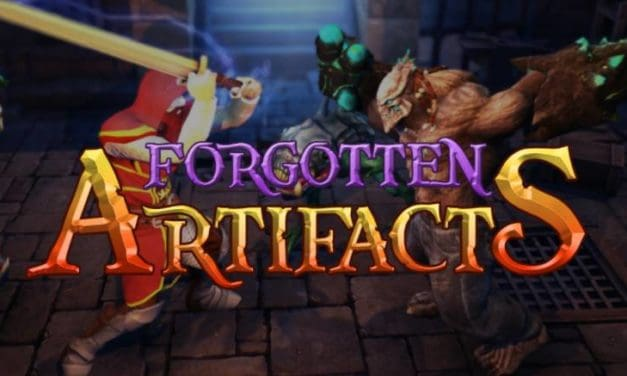 Forgotten artifacts. hack and slash RPG