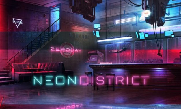 Neon District a sci-fi dystopian RPG.
