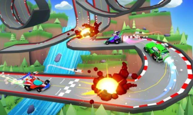 Battle Racers. Action racing in Decentraland.
