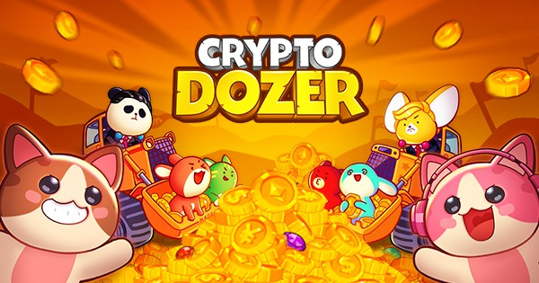 CryptoDozer Review. Arcade coin pusher classic