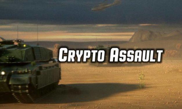 CryptoAssault. capture territory, and earn Ethereum
