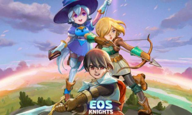 EOS Knights. A popular RPG on EOS