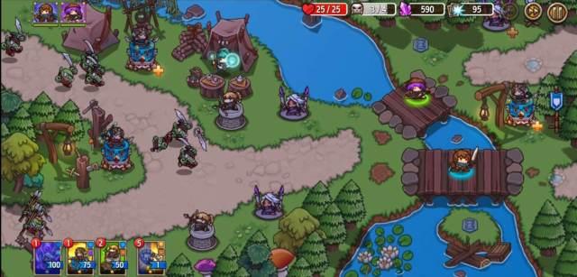 Crazy Defense heroes Gameplay